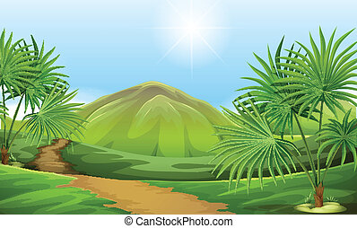 Land resources - Illustration of the land resources