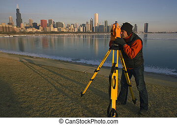 Surveying in Chicago