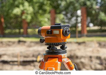 land surveyor equipment theodolite