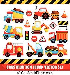 Land Transportation and Construction Trucks