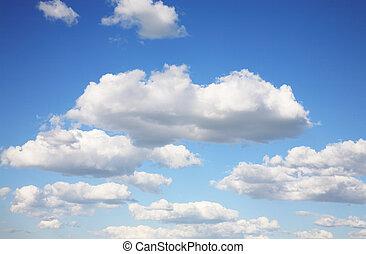 land, von, lebensunterhalt, himmel