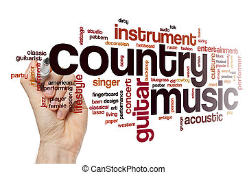 land, wort, musik, wolke