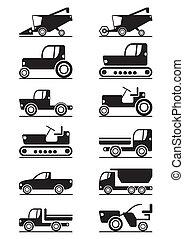 landbouwmechanisme, iconen