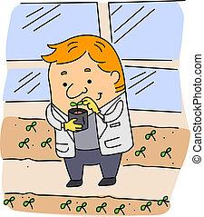 landbrugs-, videnskabsmand