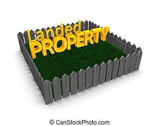 Landed property