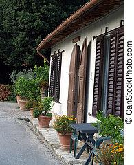 landelijk, eigendom, tuscany