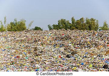 landfill