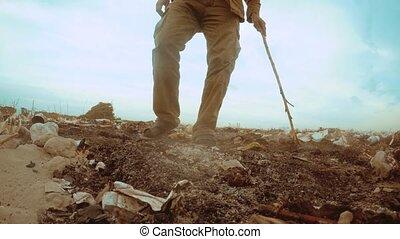 landfill, concept, levensstijl, garbage., stortplaats,...