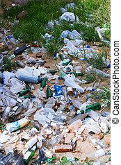 landfill, desautorizado, lixo