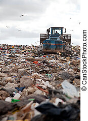 landfill, senkrecht