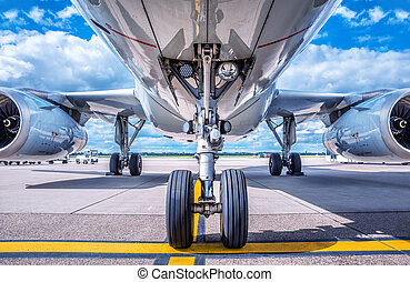 landing gear of an aircraft