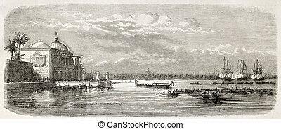 Landing in Alexandria - Napoleon Prince Imperial landing in...