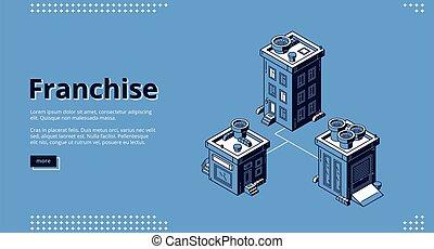 Landing page of franchise business model - Franchise banner...
