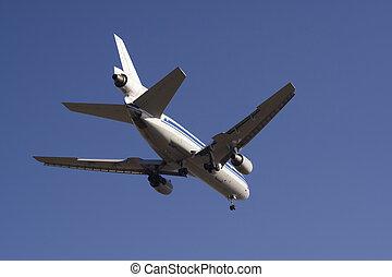 Landing passenger plane 2