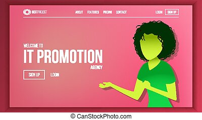 Landing Web Page Design Vector. Website Business Reality. Shopping Online Site Scheme Template. Cyber Monday. Planning Strategy. Invest Conference. Illustration