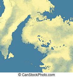 landkarte, fälschung