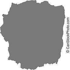 landkarte, -, (madagascar), antananarivo
