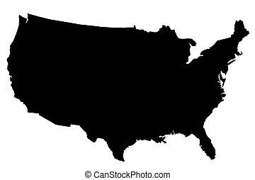 landkarte, uns