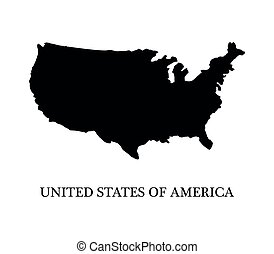 landkarte, vereinigte staaten