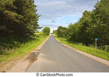 landlige veje