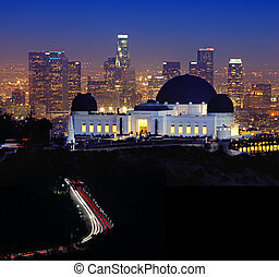 Landmark Griffith Observatory in Los Angeles, California