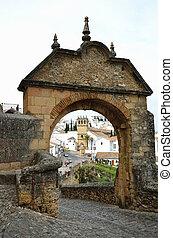 Landmark of the ancient Spanish town Ronda