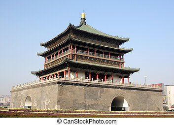 Bell Tower in Xian China
