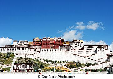 Landmark of the Potala Palace - Landmark of the famous...