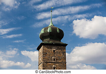 Tower - Landmark - Tower in Prague in Czech Republic