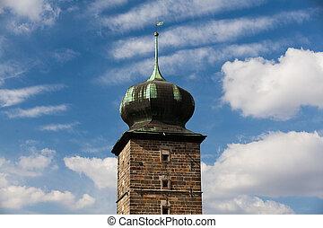 Tower - Landmark - Tower in Prague in Czech Republic