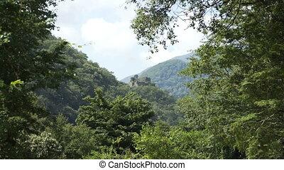 landmarks, посетил, смотреть, древний, fragments, гора, исторический, туристы, башня
