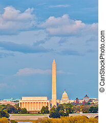 Landmarks in Washington DC
