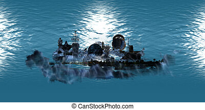 jeddah city under the ocean