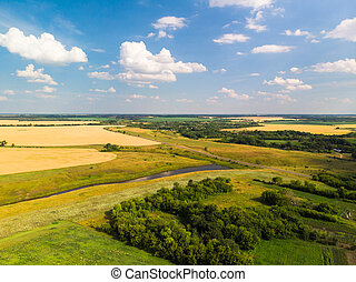 Landscape and agricultural lands in Central Russia - ...
