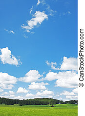 landscape and clouds