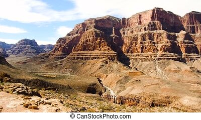 view of grand canyon cliffs
