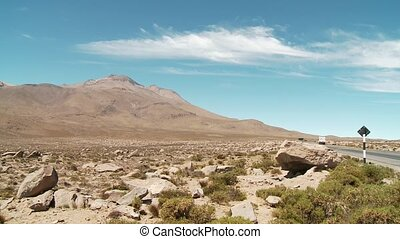 Landscape, Andes, Peru