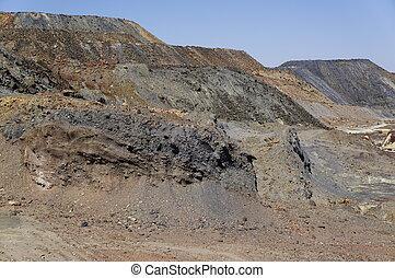 Landscape area mining, Spain