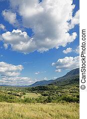 Landscape at Balkan Mountain (Stara Planina) National Park in Serbia Europe