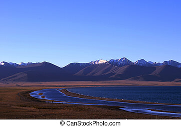 Landscape at lakeside