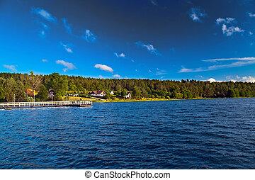 Landscape at the lake