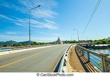 Landscape Bridge River Kwai.