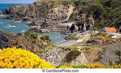 coast portugal - landscape coast portugal , rota vicentina.