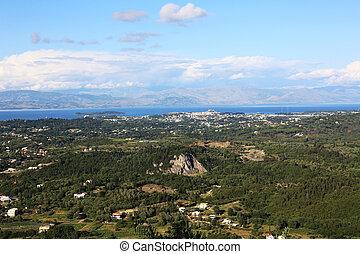 Landscape Corfu Greece