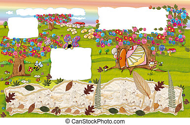 landscape, countryside