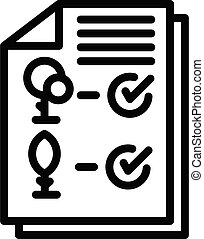 Landscape designer element icon. Outline landscape designer element vector icon for web design isolated on white background