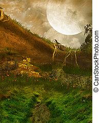 landscape, fantasie