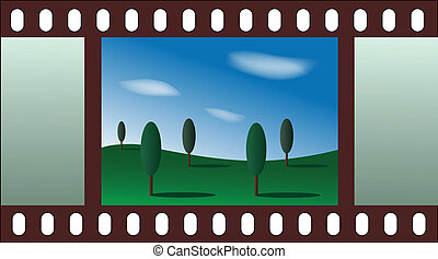 landscape - film strip