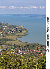Landscape from a lake Balaton in Hungary take the picture...