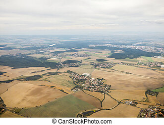 Landscape from aerial view